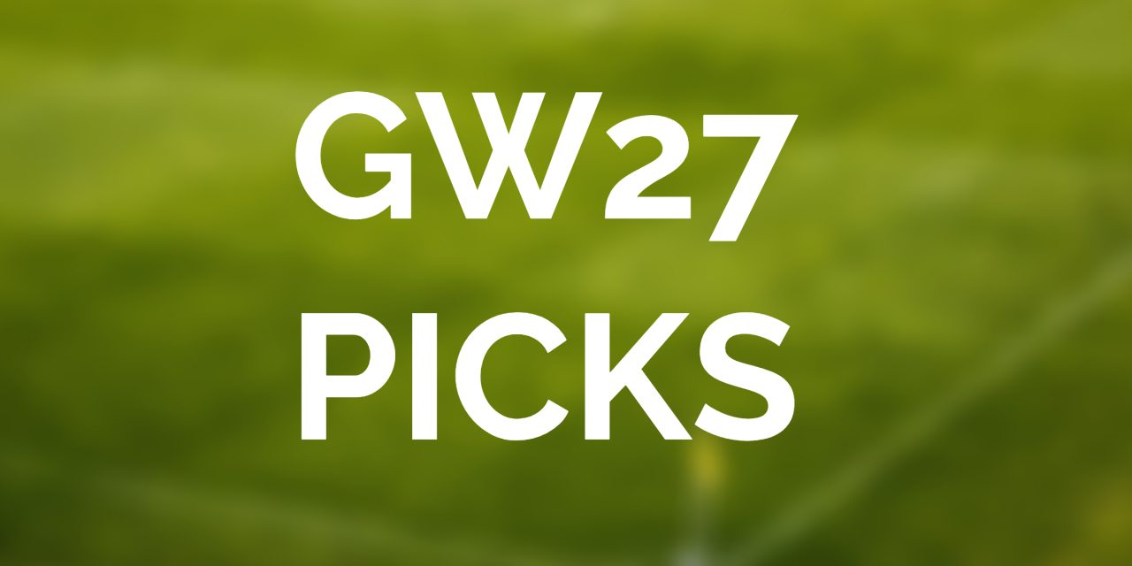 Gameweek 27 Player Picker - image
